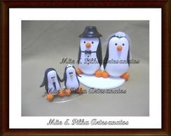 Noivinhos Casal Pinguins