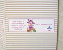 Tarja barra de chocolate: Empresa P�scoa