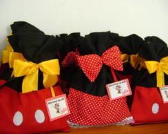 Sacolinhas da Minnie e Mickey