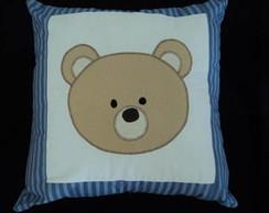 Capa de almofada urso