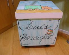 caixa para brinquedo menino