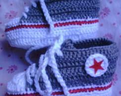 Tenis star  Baby   cinza