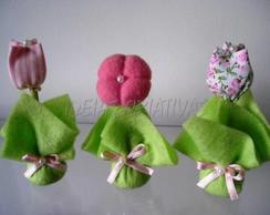 Mini Flores Fuxico
