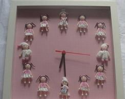 Rel�gio boneca