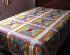 colcha-quadrados coloridos