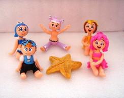topo de bolo princesas do mar