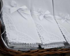 12 Guardanapos tecido e renascen�a 40x40