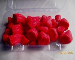 caixa de morango