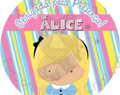 Adesivo Latinha Mint to Be Alice