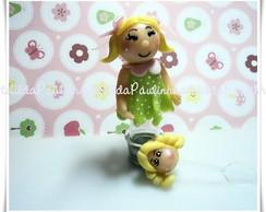 mini tubete decorado tema casa de boneca