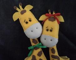 Prendedor de cortina Girafinhas