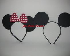 Tiaras da Minnie e Mickey p lembrancinha