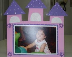 Porta-retrato Castelo da Barbie