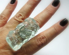 MAXI Anel - VIDRO / Oversized Glass Ring