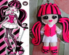chaveiro draculaura monster high