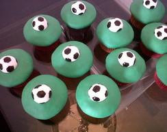 Cupcake Loucos por Futebol