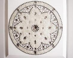 Mandala de Cristal Branco