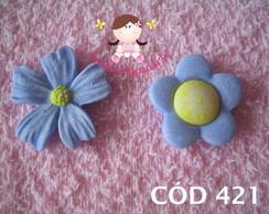 C�d 421 Molde de flores com 2 flores