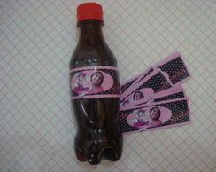 r�tulo para garrafa de coca -cola