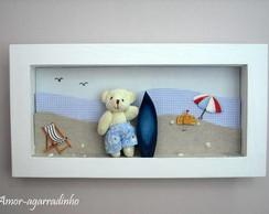 Quadro Urso Surfista
