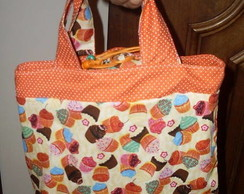 Lunch Bag cupcakes coloridos