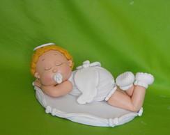 Anjinho topo de bolo para Batizado