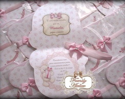 Convite Ursa Floral