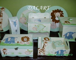 KIT DE BEB� SAFARI 10 P�S
