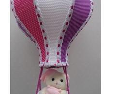 Lustre Bal�o Infantil rosa, roxo,branco