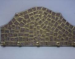 Mosaico em couro leg�timo