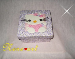 Porta j�ia hello kitty