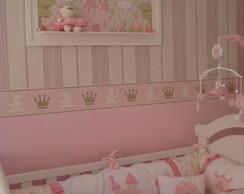 Kit de ber�o princesa rosa