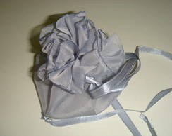 Saquinho multifuncional - cinza