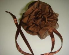 Saquinho multifuncional - chocolate