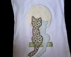Camiseta Namoro de gatos