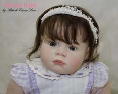 Boneca Reborn Gisele beb� de 1 aninho