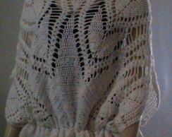 Blusa de croch� Petalas