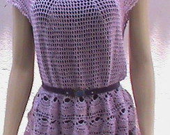 Blusa de croch�( cobre leggn)