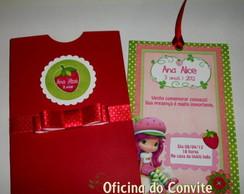 CONVITE MORANGUINHO