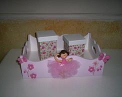 caixa higienica de bailarina