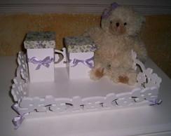 caixa higienica floral