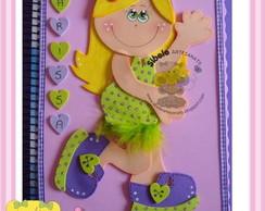caderno menina charmosa