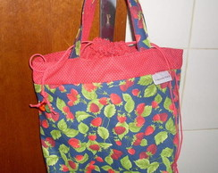 Lunch Bag morangos