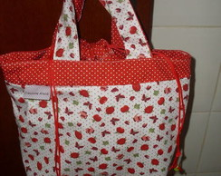 Lunch Bag morangos e bules