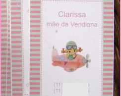 Mommy Card: Avi�ozinho lil�s e rosa