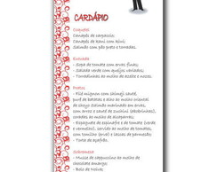 Card�pio - Menu