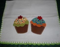 Pano de Prato Cup Cake