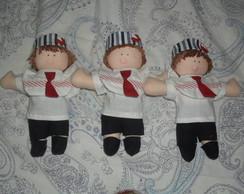 Boneco marinheiro Guilherme 20cm