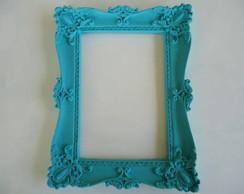 moldura colorida com espelho ou vidro