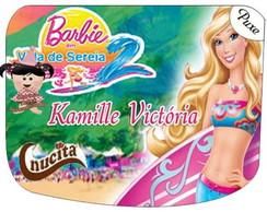 R�tulo Nucita - Barbie vida de sereia 2
